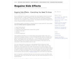 rogainesideeffects.net