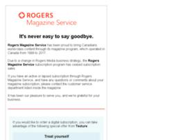 rogersmagazineservice.com