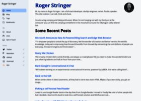 rogerstringer.com
