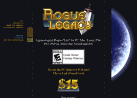roguelegacy.com