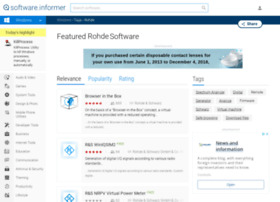 rohde.software.informer.com