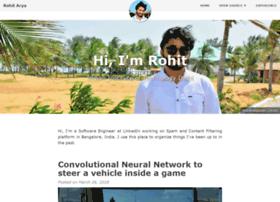 rohitarya.com