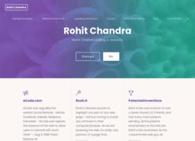 rohitchandra.com