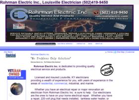 rohrmanelectric.com