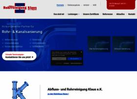 rohrreinigung-klaus.de