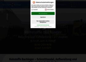 rohstoffebachinger.de