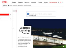 rolexlearningcenter.epfl.ch