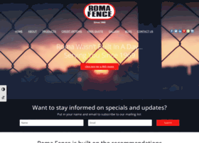 romafencegroup.com