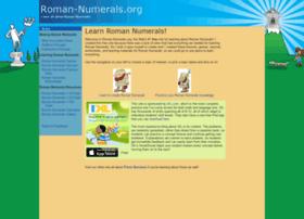 roman-numerals.org