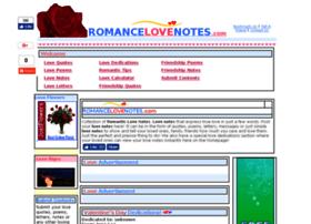 romancelovenotes.com