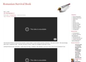 romaniansurvivalbook.wordpress.com