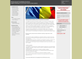romaniantranslation.org