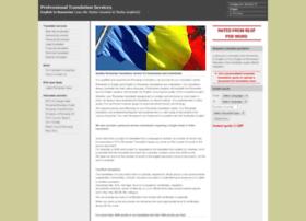 romaniantranslation.org