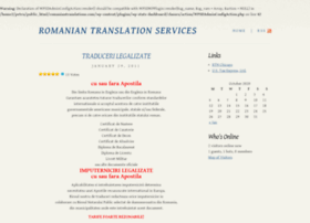 romaniantranslations.com
