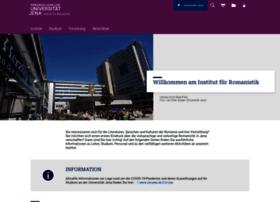 romanistik.uni-jena.de