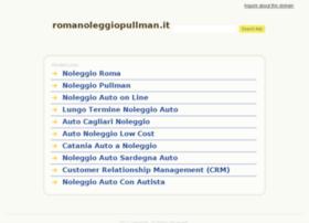 romanoleggiopullman.it