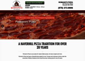 romanos-pizza.com