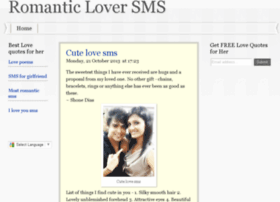 romanticloversms.com