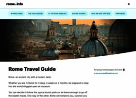 rome.info