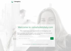 romehotelsitaly.com