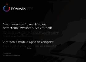 rommanapps.com