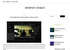 romneymakes.com