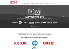 romrefacciones.com