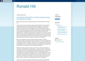ronaldhill910.blogspot.com
