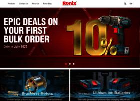 ronixtools.com