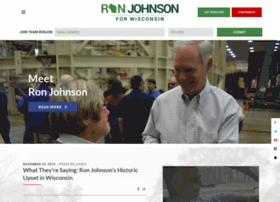 ronjohnsonforsenate.com