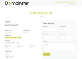 ronoso.com