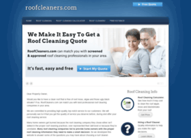 roofcleaners.com
