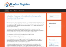 roofersregister.com
