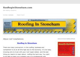 roofinginstoneham.com