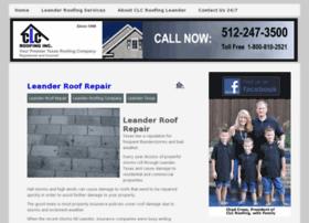 roofingleandertx.com
