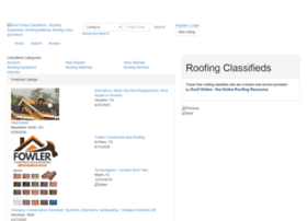 roofonlineclassifieds.com