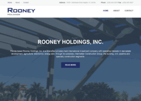 rooneyholdings.com