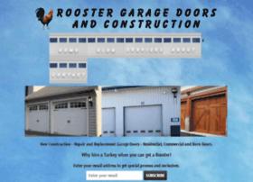 roostergaragedoorsandconstruction.com