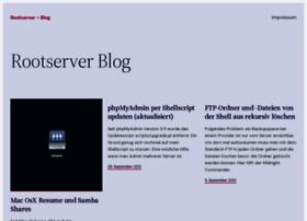 rootserver-blog.de