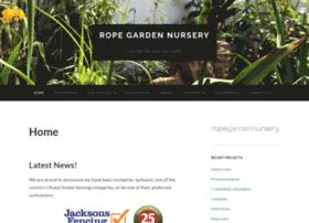 ropegardennursery.co.uk