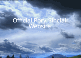 rorysinclair.co.uk