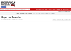 rosariomapas.com