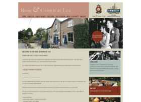 roseandcrownatlea.co.uk