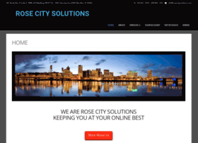 rosecitysolutions.com