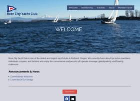 rosecityyachtclub.org