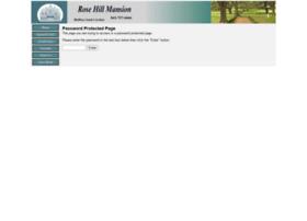 rosehillmansion.com