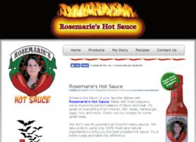 rosemarieshotsauce.com