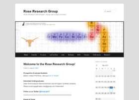 roseresearchgroup.org
