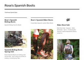 rosesspanishbootcompany.wordpress.com