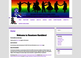 rosetownramblers.com